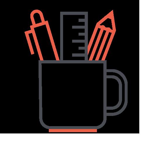 Icône pot café